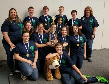 Battle of the Books team will compete in May at the state championship.