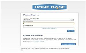 Parent Portal Home Base Design