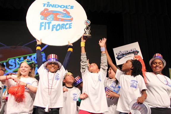 Gardner Park Elementary wins Are You Smarter Than a Gaston County Fifth Grader?