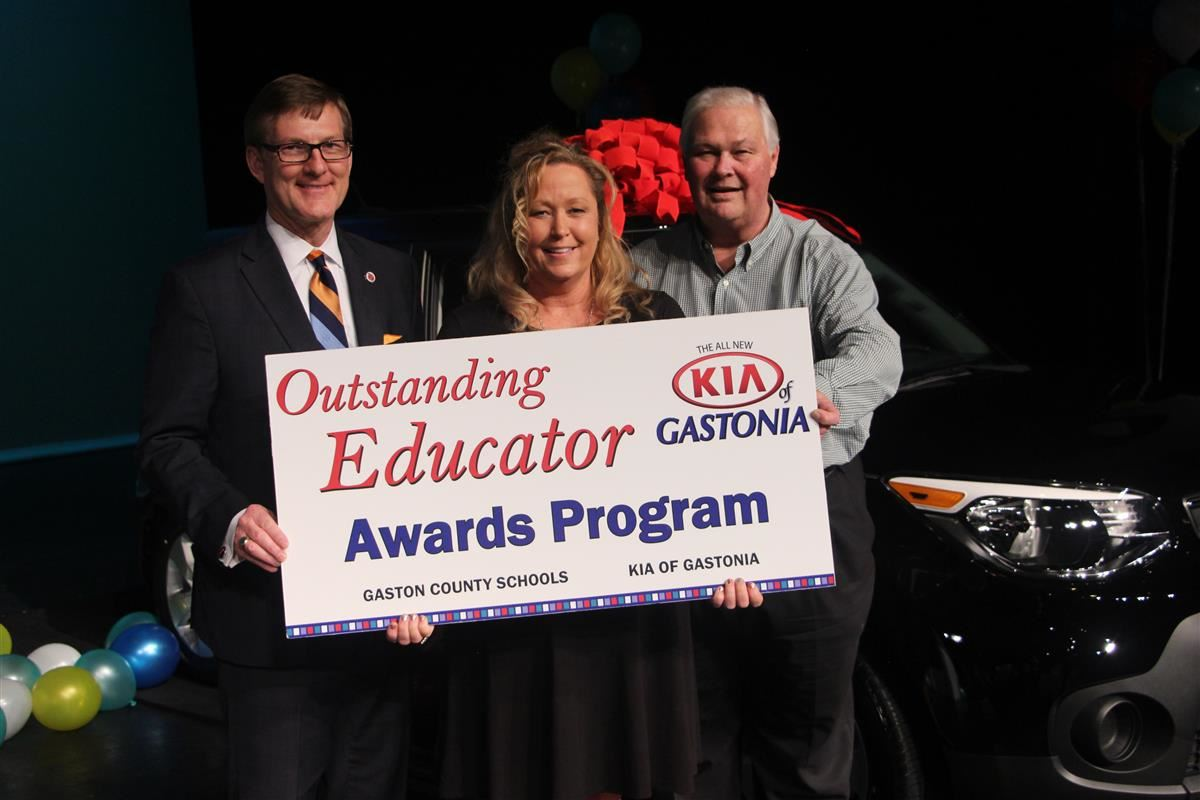 Kathleen Macdonald was our 2018-2019 Kia of Gastonia Outstanding Educator