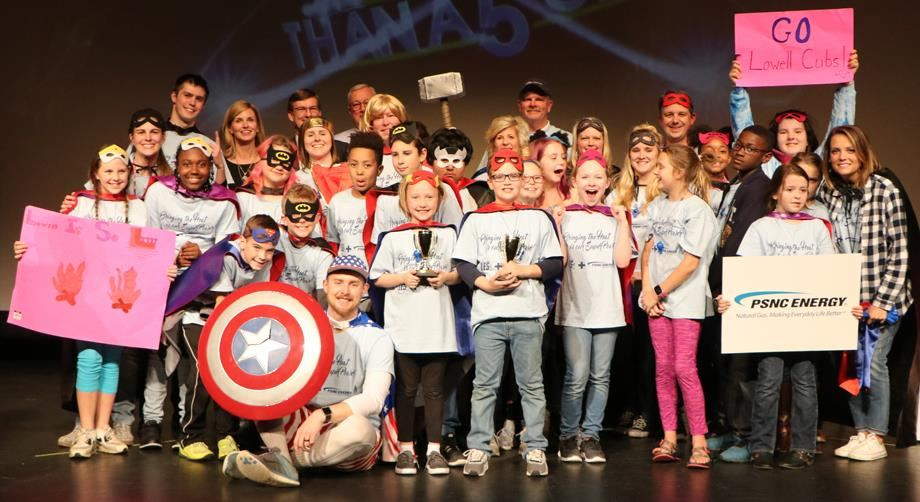 Lowell Elementary wins Are You Smarter Than a Gaston County Fifth Grader? competition