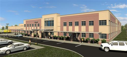 Front Elevation School : New school options