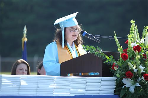 Hunter Huss High Valedictorian Gabriela Fonseca