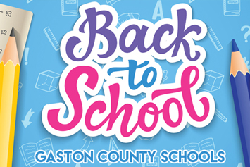 It's back to school time in Gaston County!