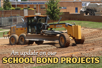 Improvement projects going on at schools