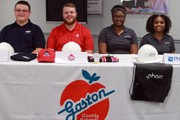 Four students participate in Career Signing Day