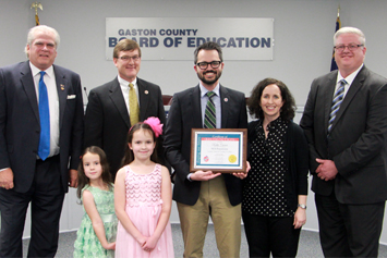 Board of Education recognition for February
