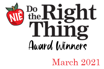 'Do the Right Thing' award winners for March