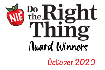 'Do the Right Thing' award winners for October