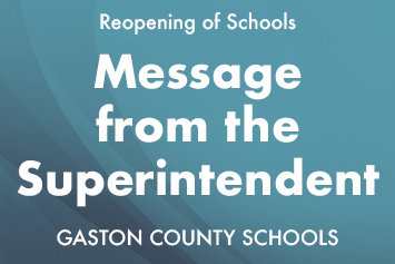 Superintendent's message for parents and employees
