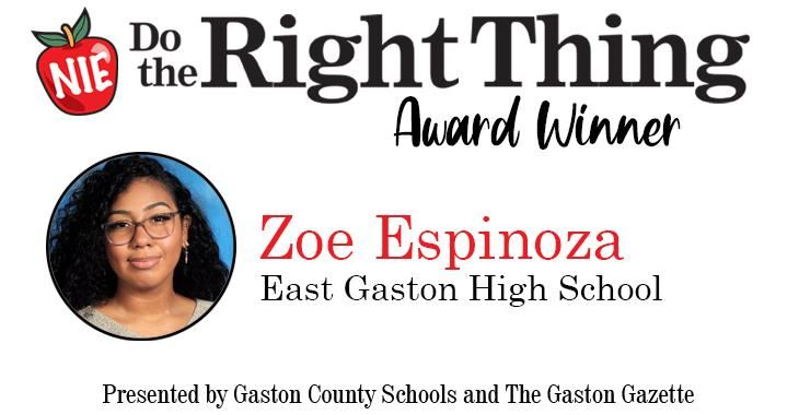 Do The Right Thing Award Winner