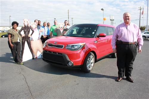 Kia owner says 'thank you' with car giveaway