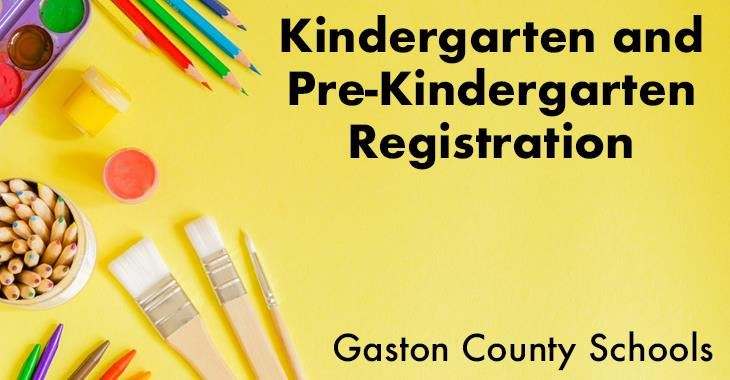 KIndergarten and Pre-Kindergarten Registration
