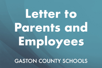 Letter to Parents and Employees