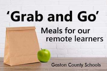 'Grab and Go' meals for our remote learners