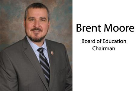 Brent Moore elected Board of Education Chairman