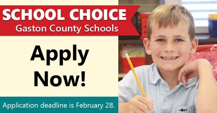 School Choice: Apply Now!