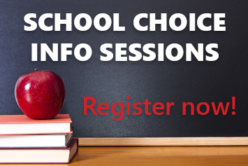 Learn about school choice during online sessions