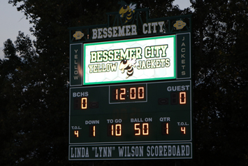 Bessemer City High unveils new video scoreboard