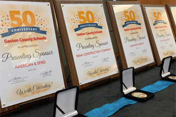 "School mentors and business/community partners were honored during the ""Big 50"" Reception."