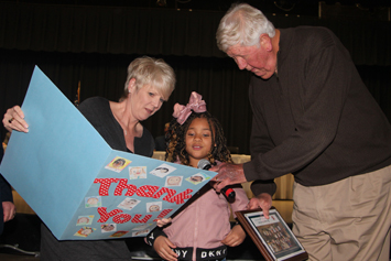 School classes honor Board of Education