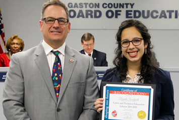 Board recognizes students and employees