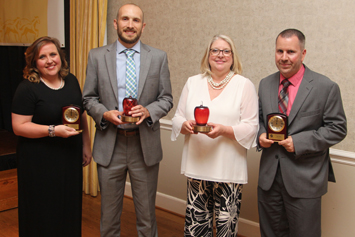 Top employees recognized at Evening of Excellence