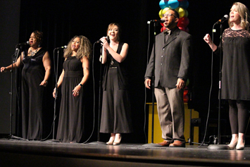"Employees shine during ""Big 50"" talent show"