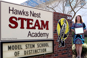 Hawks Nest STEAM Academy earns state honor