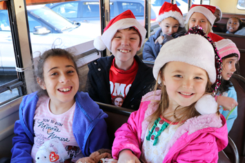 Schools take part in area holiday parades