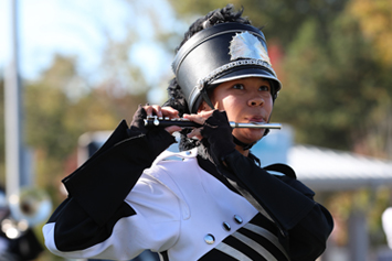 Marching bands take the field for annual fanfare