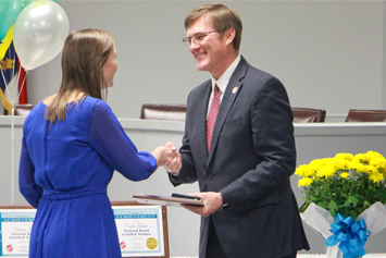 Teachers honored for National Board Certification