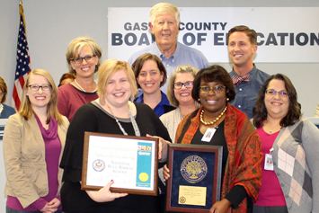 Board of Education recognition for November