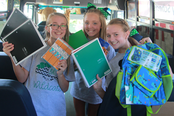 'Stuff That Bus!' collects 4,400 school supplies