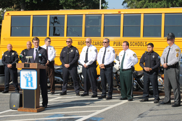 Attention, drivers! School buses are on the roads