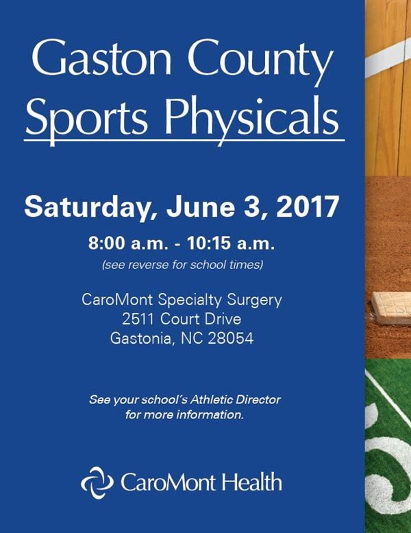 GCS SPORTS PHYSICALS
