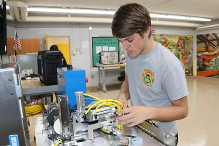 Technology and Industrial Engineering Academy at Bessemer City High School