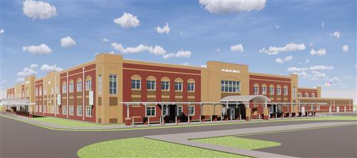 Belmont Middle School rendering