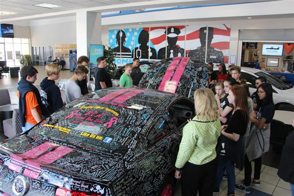 Photo Galleries StudentsWork Program - Tindol ford car show