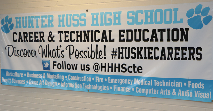 Hunter Huss High School / Homepage