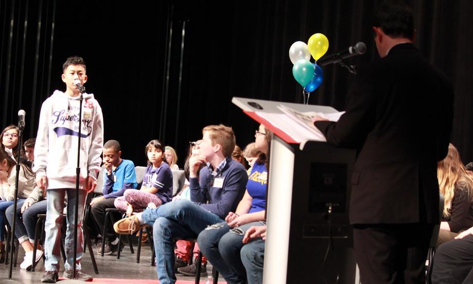 Brothers win Gaston County Schools Spelling Bee