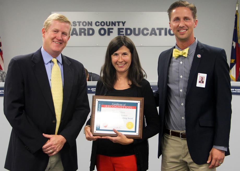 Board of Education Recognition