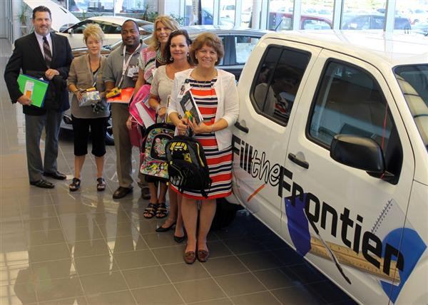 Photo Galleries (2014-2015) / Gastonia Nissan Fill the Frontier