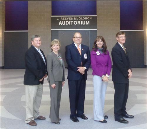 Stuart W. Cramer High School welcomes State Superintendent June Atkinson