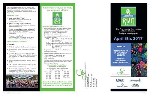 Community Run Brochure