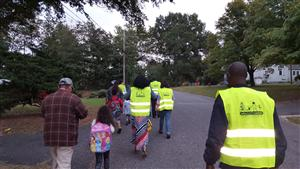 Lingerfeldt National Walk to School Day
