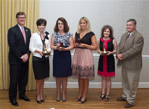 GCS recognizes outstanding educators for 2014-2015