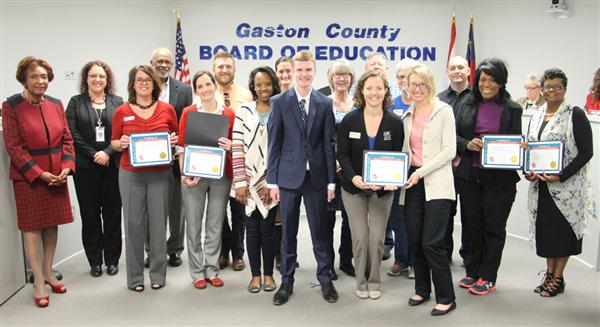 Department of Exceptional Children Business Partners honored